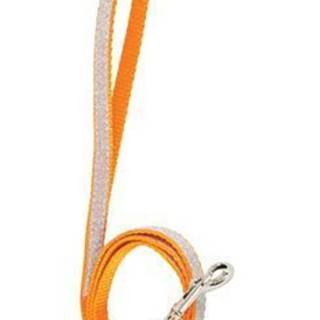 Vodítko mačka SHINY nylon oranžovej 1m Zolux