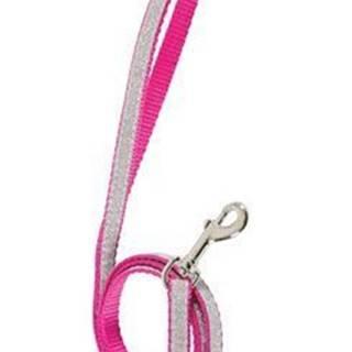 Vodítko mačka SHINY nylon ružové 1m Zolux