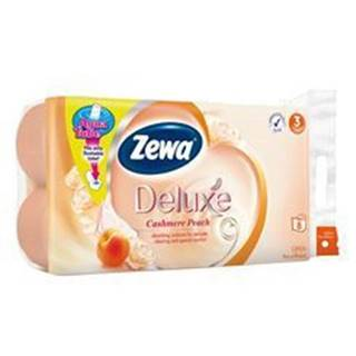 Wc toaletní papír ZEWA Deluxe Aqua Tube Broskev 3V 8ks
