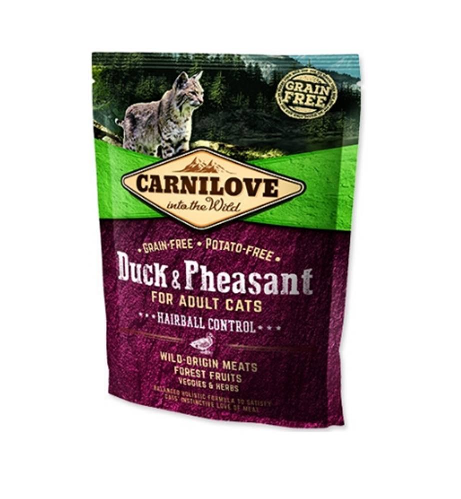 Carnilove Carnilove Cat Duck&Pheasant Adult Hairball Contr 400g