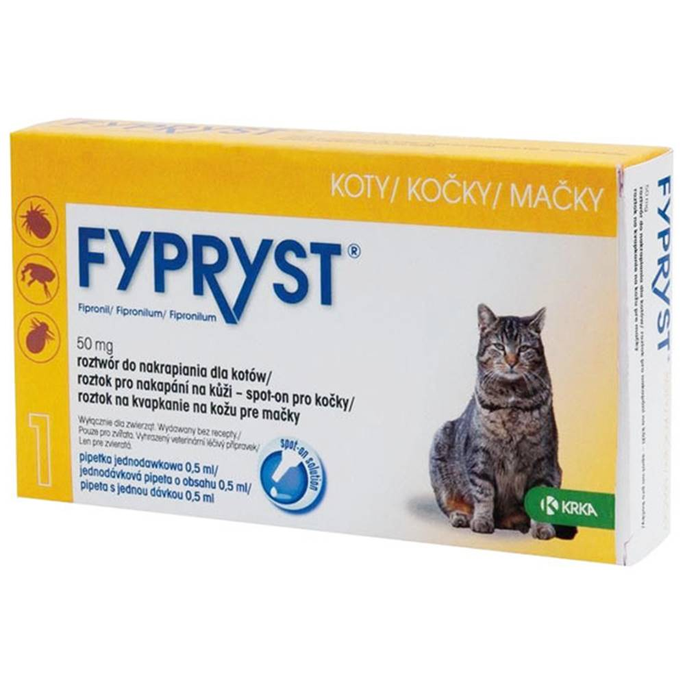 Fypryst Fypryst Spot-on Cat sol 1x0,5ml