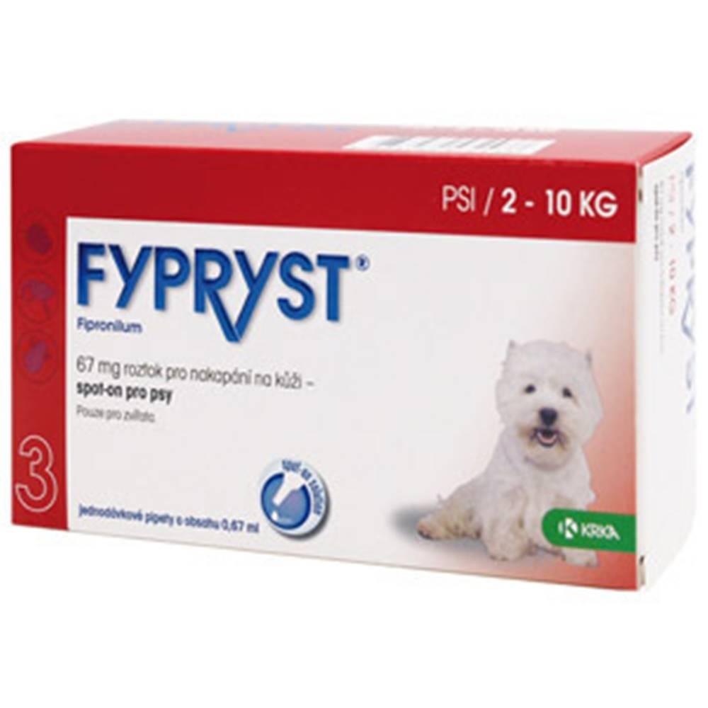 Fypryst Fypryst Spot-on Dog S sol 1x0,67ml (2-10kg)