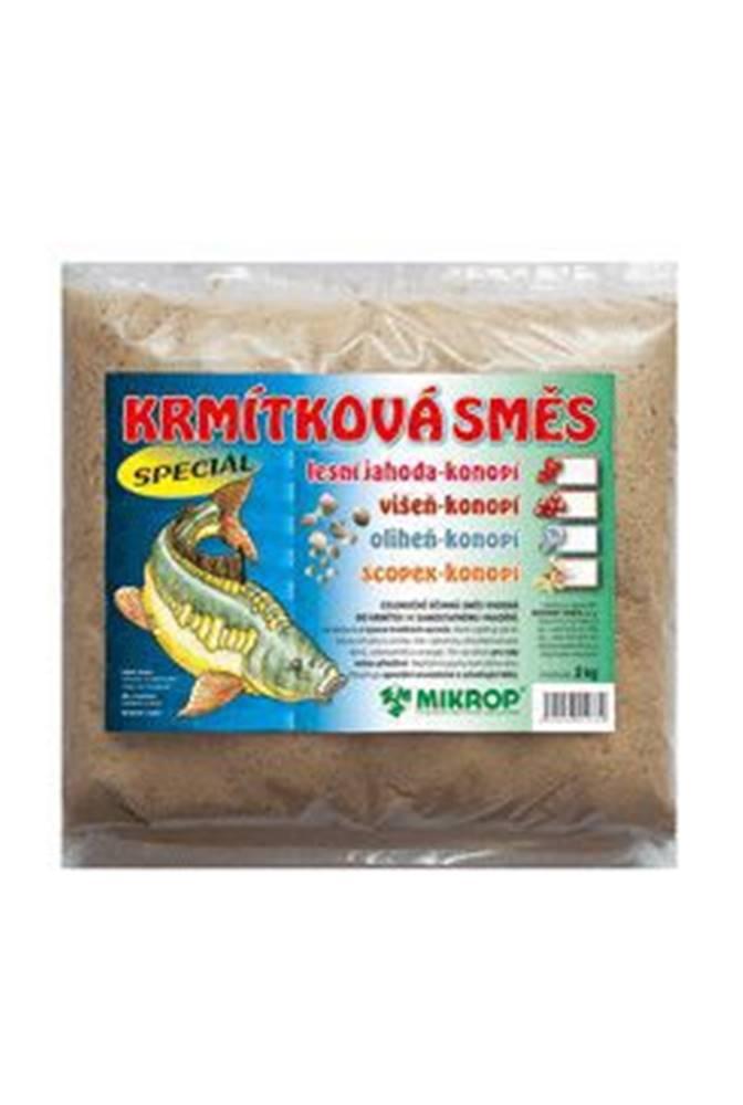 Ostatní Krmítková směs Jahoda pro ryby - konopí 2kg