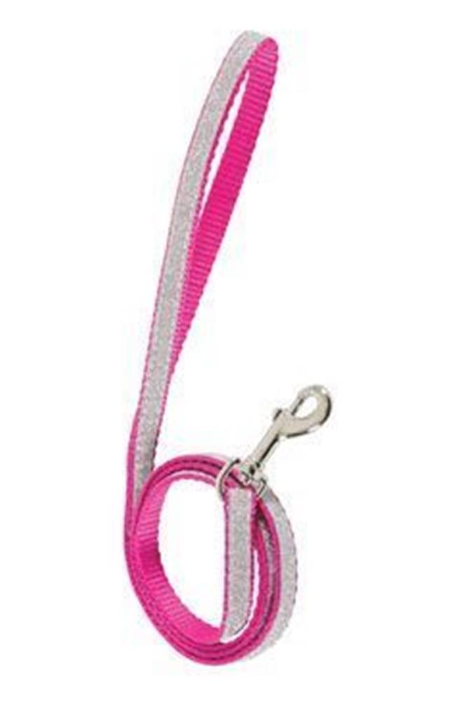 Zolux Vodítko mačka SHINY nylon ružové 1m Zolux