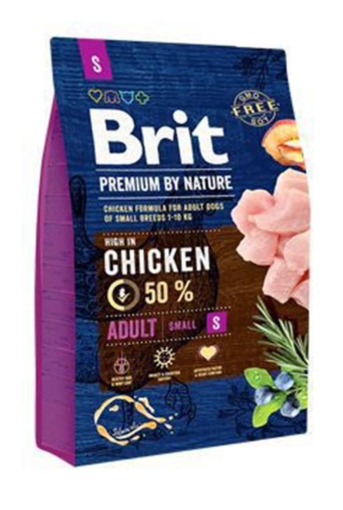 Brit Brit Premium Dog by Nature Adult S 3kg
