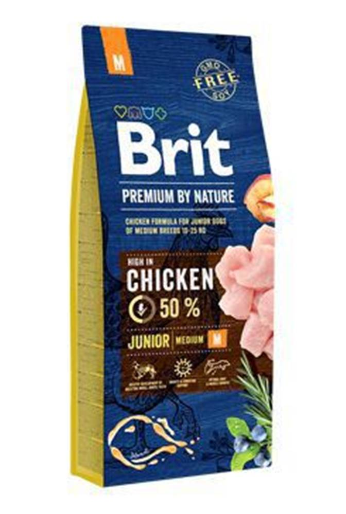 Brit Brit Premium Dog by Nature Junior M 15kg
