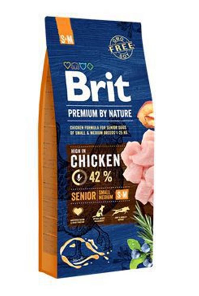 Brit Brit Premium Dog by Nature Senior S+M 15kg