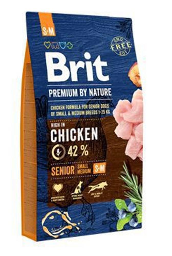 Brit Brit Premium Dog by Nature Senior S+M 8kg