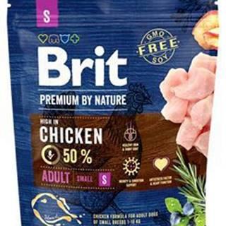 Brit Premium Dog by Nature Adult S 1kg