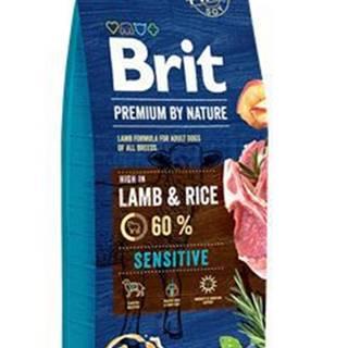 Brit Premium Dog by Nature Sensitive Lamb 15kg