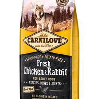 Carnilove Dog Fresh Chicken & Rabbit for Adult 12kg