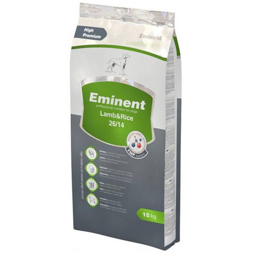 Eminent Eminent Dog Lamb Rice 15kg