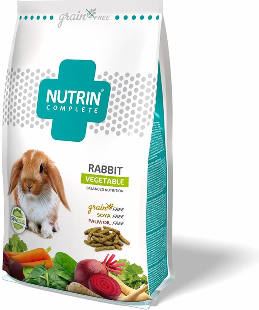 Nutrin Nutrin Complete Grain Free Králík Vegetable 1500g