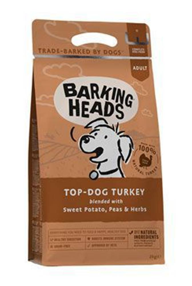 Barking heads BARKING HEADS Top Dog Turkey 2kg