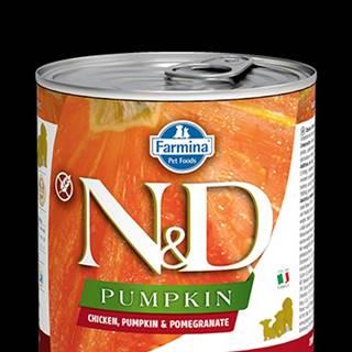 N&D DOG PUMPKIN Puppy Chicken & Pomegranate 285g