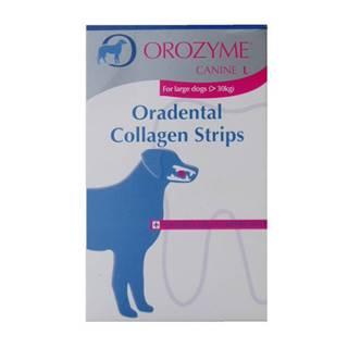 Orozyme enzym.plátky žuvacie pre psov L 141g