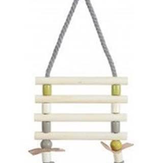 Žebřík pro ptáky provazový dřevěné příčky 31cm Zolux