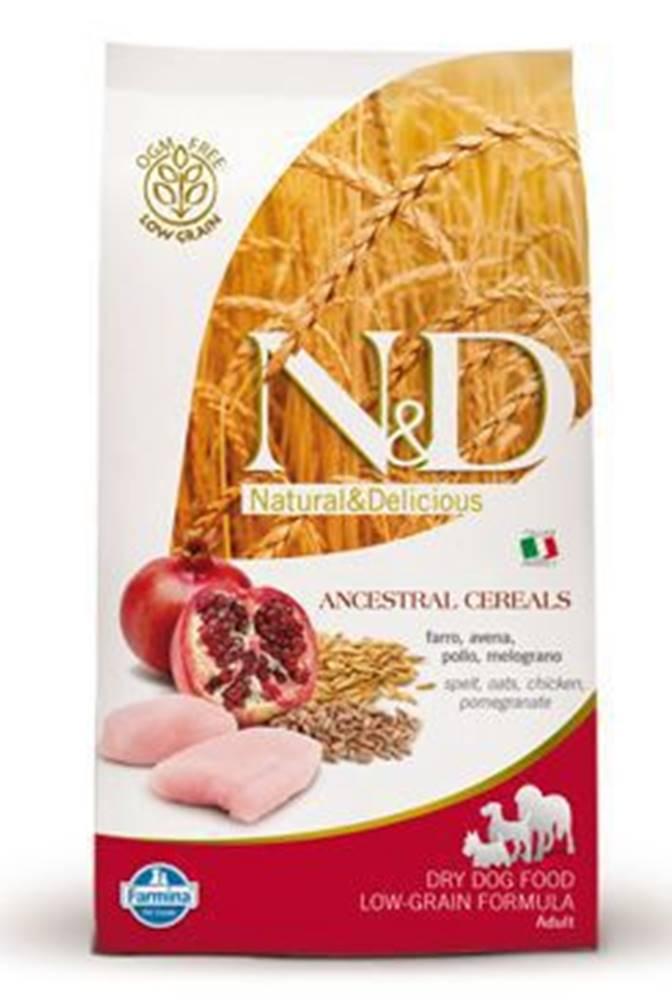 N&D N&D Low Grain DOG Adult Mini Chicken & Pomegr 800g