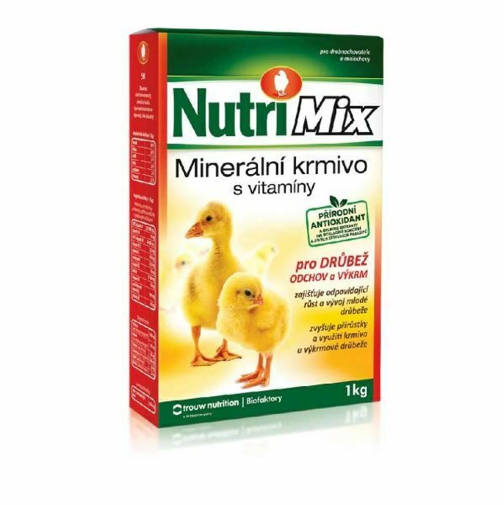 Biofaktory Nutri Mix pro drůbež výkrm a odchov plv 20kg