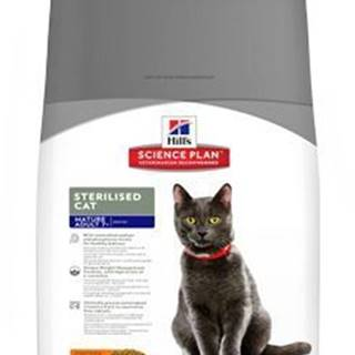 Hill's Fel. Dry Mat Adult7+Sterilised Cat Chicken 10kg