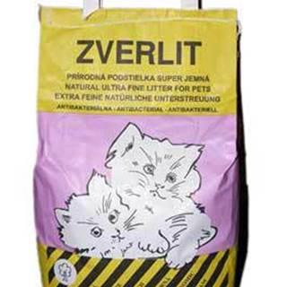 Zverlit ružový super jemná Podestýlka mačka 6kg