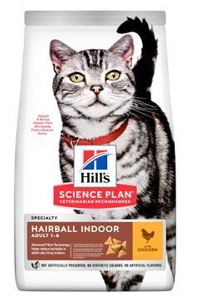 """Hill's Hill's Fel. Dry Adult""""HBC for indoor cats""""Chicken 3kg"""