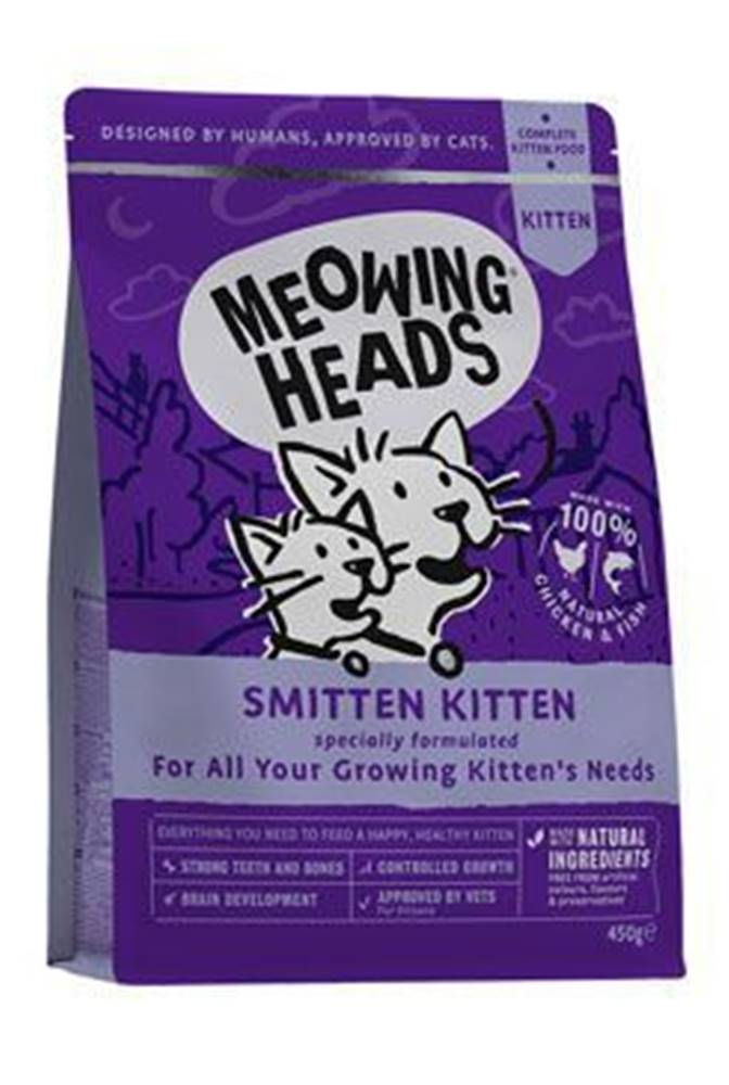 Meowing Heads MEOWING HEADS Smitten Kitten 450g
