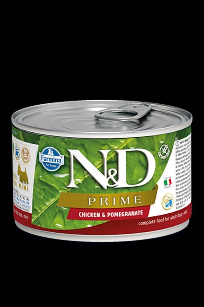 N&D (Farmina Pet Foods) N&D DOG PRIME Adult Chicken & Pomegranate Mini 140g