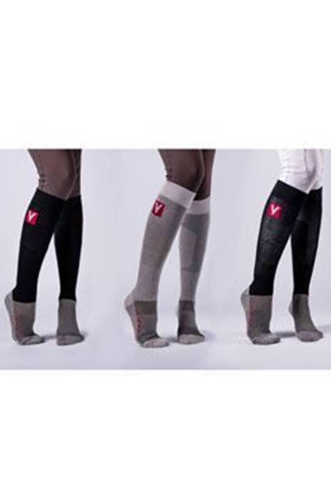 Vetoflex VETOFLEX RIDER SUMMER Silver Socks , vel. XL černá