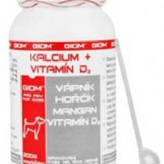 Giom pes Kalcium+D3 200g plv