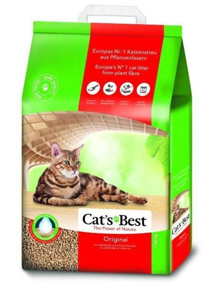 Plaček Podestýlka Cats Best Original Kočkolit 20l