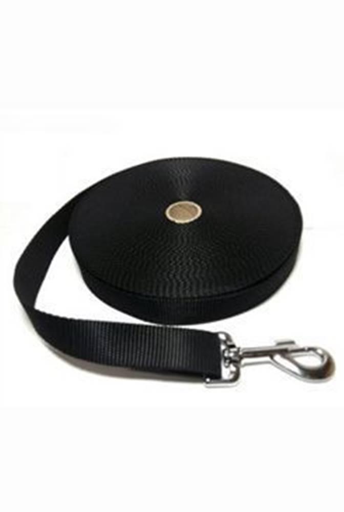 DINOFASHION Vodítko DINOFASHION popruh stopovací černé 5m/2,5cm