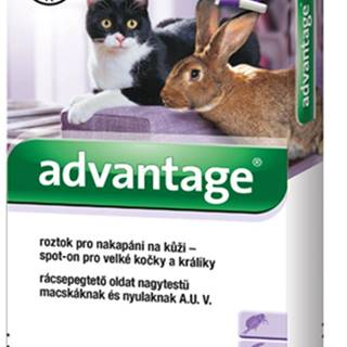 Advantage 80 10% 1x0,8ml pro kočky nad 4kg