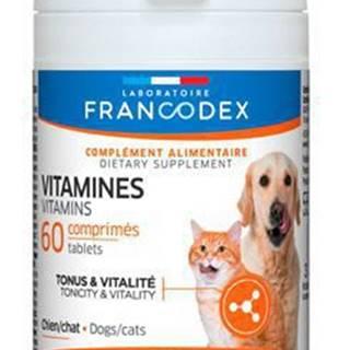 Francodex Vitamíny pes, kočka 60tab