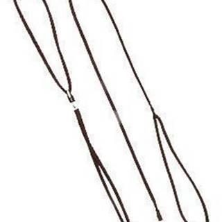 Vodítko DINOFASHION předváděcí šňůra 130cm/5mm hnědé
