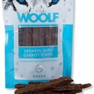 WOOLF pochoutka salmon with carrot strips 100g