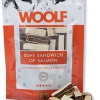 WOOLF pochoutka soft sandwich of salmon 100g