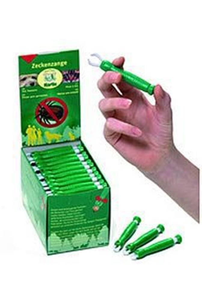 Karlie Kleště na klíšťata plast zelené KAR 1ks