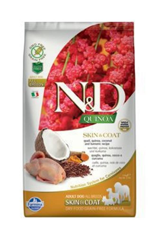 N&D N&D GF Quinoa DOG Skin&Coat Quail & Coconut 2,5kg
