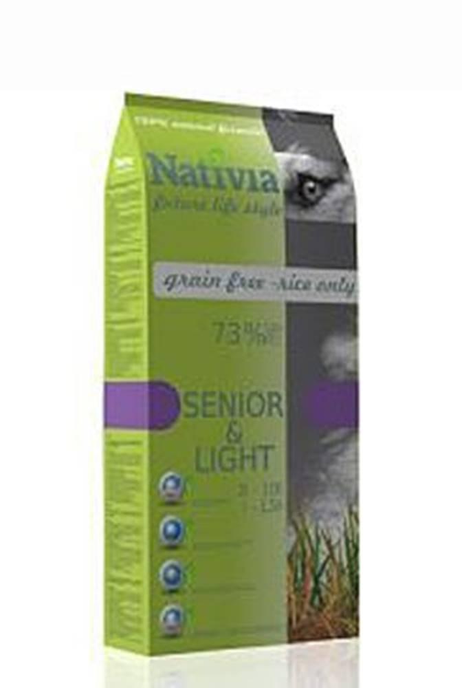 Nativia Dog Senior&Light 3kg