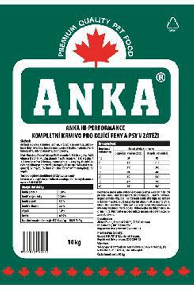 Anka Anka Hi Performance 10kg
