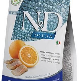 N&D OCEAN CAT Adult Herring & Orange 1,5kg
