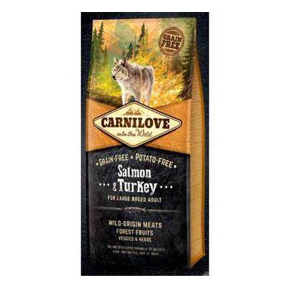 Carnilove Carnilove Dog Salmon & Turkey for LB Adult  1,5kg