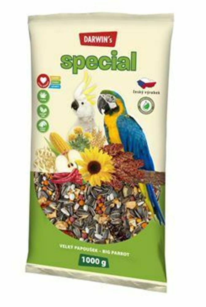 Darwin Darwin's velký papoušek special 1kg