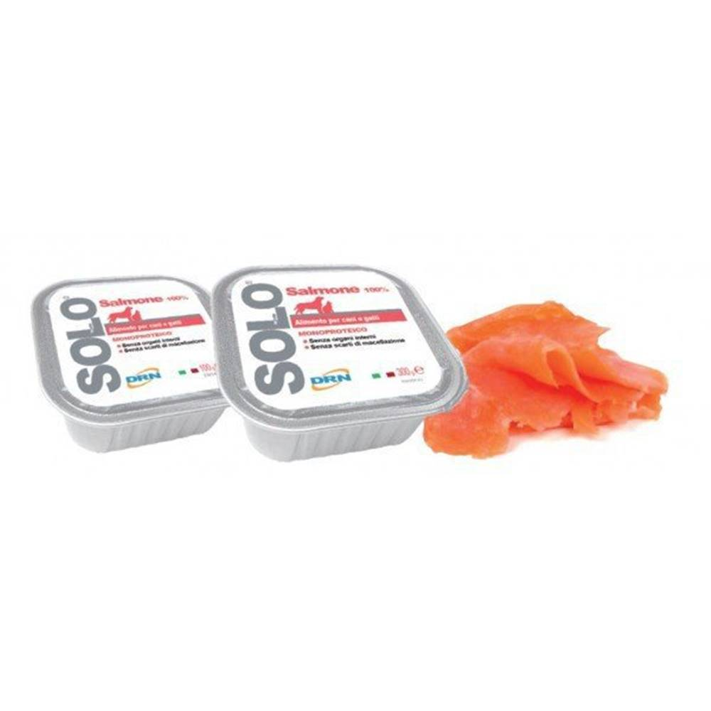 SOLO SOLO Salmone 100% (losos) vanička 100g