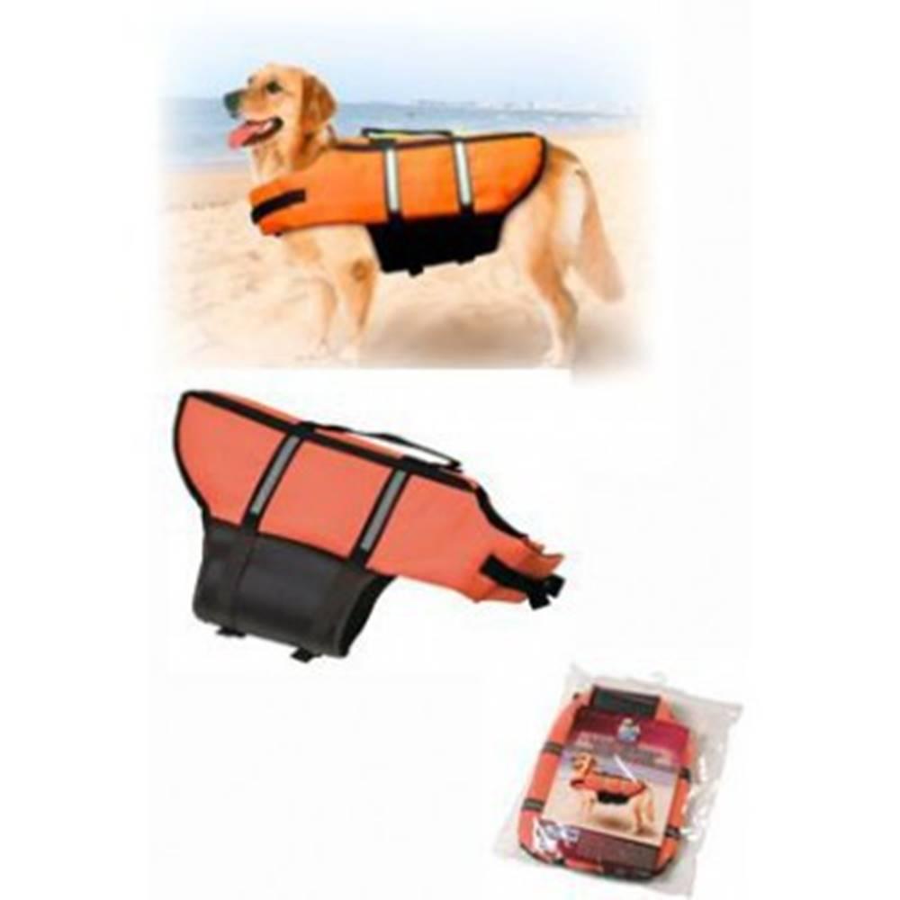 Karlie Vesta plávacie Dog S 30cm oranžová