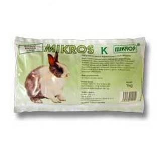 Mikrop Mikros K pro králíky plv 1kg