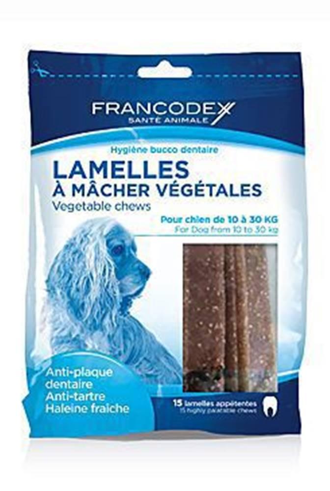 Francodex Francodex Weggy žvýkací plátky M 350g
