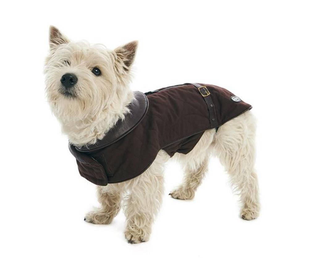 KRUUSE Obleček City jacket Čokoládová 48cm L BUSTER