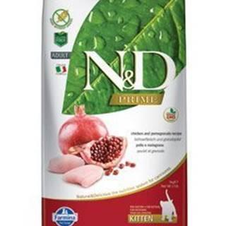 N&D PRIME CAT KITTEN Chicken & Pomegranate 5kg